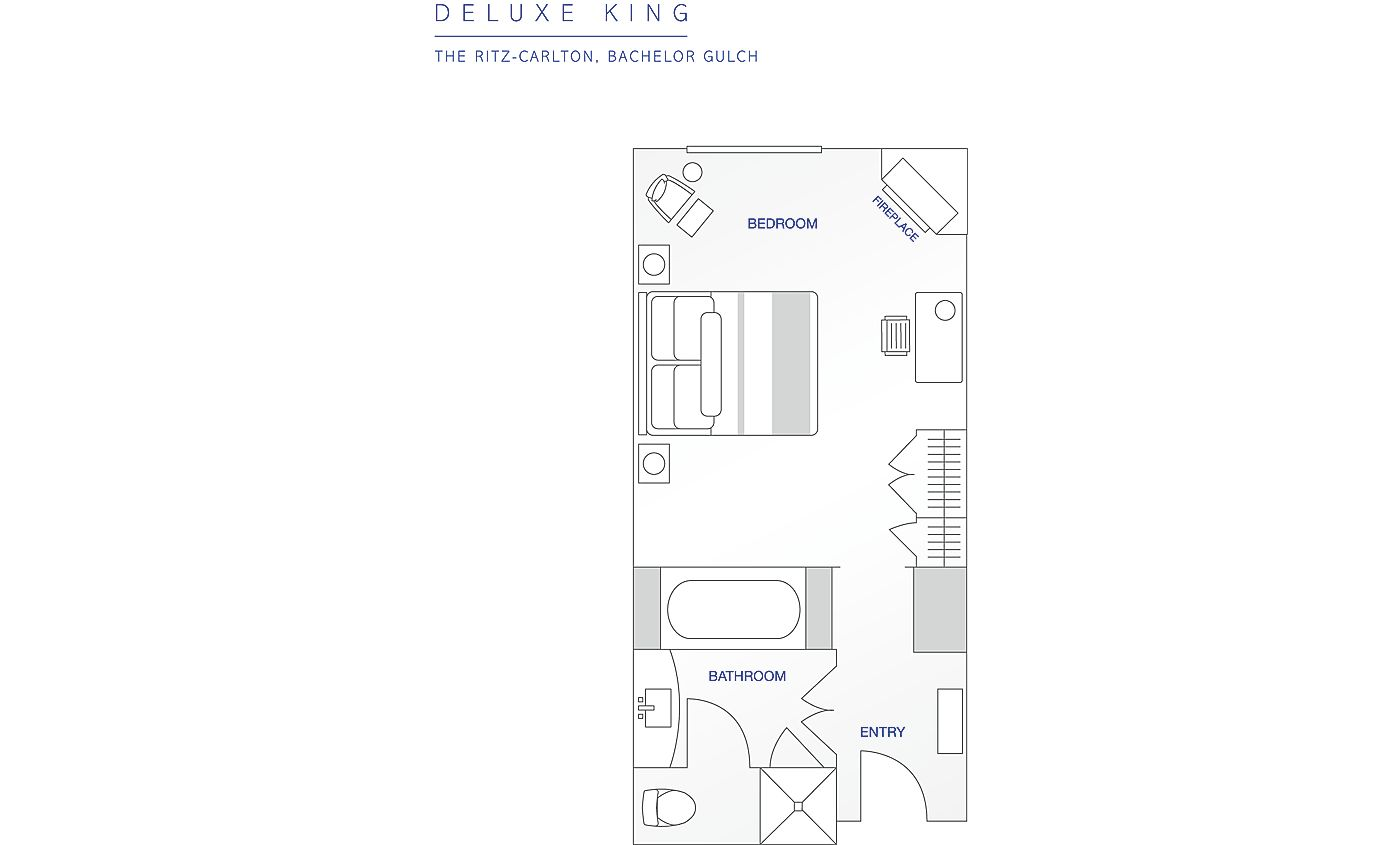 Floor Plan for Beaver Creek | Ritz-Carlton | Studio Room