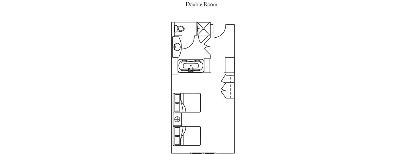 Floor Plan for Beaver Creek | Ritz-Carlton | Club Level Studio Room